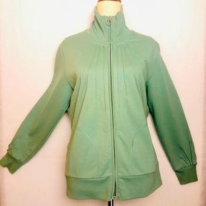 Suzannegrae green Sweater Jacket | Size :M